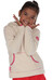 Regatta Jafar sweater Kinderen beige/wit